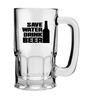 Stybuzz 600 ML Save Water Drink Beer Mug