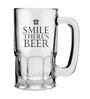 Stybuzz 600 ML Smile For Beer Mug