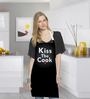 Stybuzz Kiss The Cook Cotton Cotton Kitchen Aprons