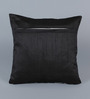 Stybuzz Silver Dupion Silk 16 x 16 Inch Cushion Covers - Set of 5