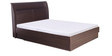 Super Magna Queen Bed with Hydraulic Storage in Indian Mahagony Finish by Godrej Interio