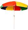 Sun Umbrellas Outdoor Umbrella 8 Feet in Multicolor
