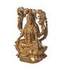 Suriti Copper Brass Gajalaxmi Idol