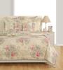 Swayam Off White Cotton Bed sheet - Set of 2