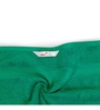 Swiss Republic Green and Brown Cotton 28 x 59 Bath Towel - Set of 2