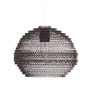 Sylvn Studio Brown Corrugated Board Orb Pendant