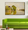 Tallenge Gallery Wrap Canvas 12 x 18 Inch Old Masters Collection Houses on The Achterzaan by Claude Monets Framed Digital Art Prints