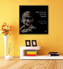 Tallenge Canvas 15 x 15 Inch Patriotic Collection Hate The Sin Quote Framed Digital Art Prints