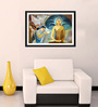 Tallenge Photographic Paper 18 x 1 x 12 Inch Sujatha Offering Buddha His First Meal Framed Digital Art Print