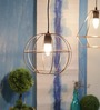 Canatuan Ceiling Lamp in Gold by Bohemiana