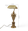 The 7th Galaxy bankers Table Lamp
