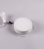 Florence Ceiling Lamp in White by CasaCraft