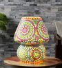 Swaroopa Table Lamp in Multicolour by Mudramark