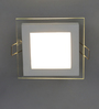 Modena Ceiling Lamp in White by CasaCraft