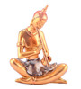 The Exclusive Deco Multicolour Polystone Musical Buddha - RD0547