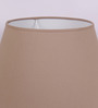 TLS by Kapoor Lampshades Beige Cotton Empire Lamp Shade