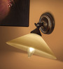 The Light Store White Metal Wall Light