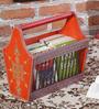 The Mikky Shoppe Station Multicolour MDF Rajasthani Stationery Holder
