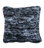 The Rug Republic Blue Polyester 18 x 18 Inch Patina Cushion Cover with Insert