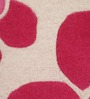 The Rug Republic Grey & Pink Woollen Floral Hand Tufted Area Rug