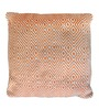 The Rug Republic Orange Cotton 18 x 18 Inch Martos Cushion Cover with Insert