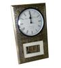 The Shopy Multicolour Solid Wood Retro Clock