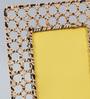 The Yellow Door Brown Iron 7.5 x 9.5 Inch Mesh Photo Frame
