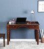 Henfrey Study & Laptop Table in Provincial Teak Finish by Amberville