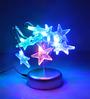 Tu Casa Multicolour Plastic Star LED Lamp