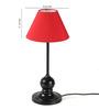 Tu Casa Pyramid Red Poly Cotton Lamp Shade