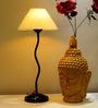 Tu Casa Conical Cream Metal Table Lamp