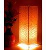 Tu Casa Printed Metal Floor Lamp