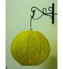 Tucasa Wall Hanging Thread Ball Lamp In Green