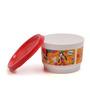 Tupperware Orange Disney Snack Cups with lids - set of 4