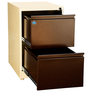 Two Drawer Filing Cabinet by Delite Kom