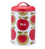 Typhoon Apple Heart Multicolor Cylindrical 1.2 L Tea Storage Canister