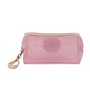 Uberlyfe PVC Baby Pink Transparent Cosmetics Pouch - Set of 2