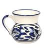 VarEesha Blue Ceramic 125 ML Small Round Tea Cups - Set of 6