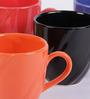 VarEesha Multicolor Ceramic 150 ML Mug - Set of 6
