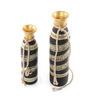 Vareesha Black & Gold Tribal Vase