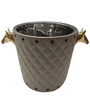 Virgin Craft Stainless Steel Double Wall Ice Cum Champagne Bucket