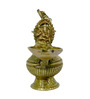 Vyom Shop Brass Port with Deep Statue