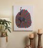 Wall Decor Canvas 14 x 1 x 18 Inch Gond Tribal Framed Art Print