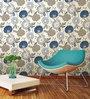 Wallskin Yellow Non Woven Paper The Wild Flower Wall Wallpaper