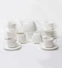 Wilmax England Porcelain Tea Set - Set of 16