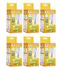 Wipro Garnet 5w LED Bulb (Cool Day Light) - Set of 6