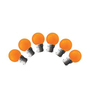 Wipro Safelite Orange 0.5-Watt LED Bulb - Set of 6