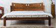 Yelm King Bed in Provincial Teak Finish by Woodsworth