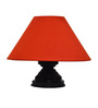 Yashasvi Contemporary Mustard Poly Cotton 10 x 10 x 7 Inch Table Lamp