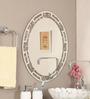 Zahab Multicolour Glass Bath Mirror